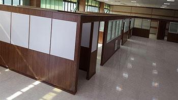 کاربرد پارتیشن در فضاهای اداری - مبلمان اداری - دکوراسیون داخلی