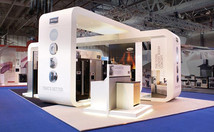 طراحی دکوراسیون غرفه های نمایشگاهی