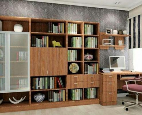 دکوراسیون داخلی اتاق مطالعه